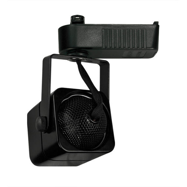 Nora NTL-202B - Cube Low Voltage Track Fixture - Black Image