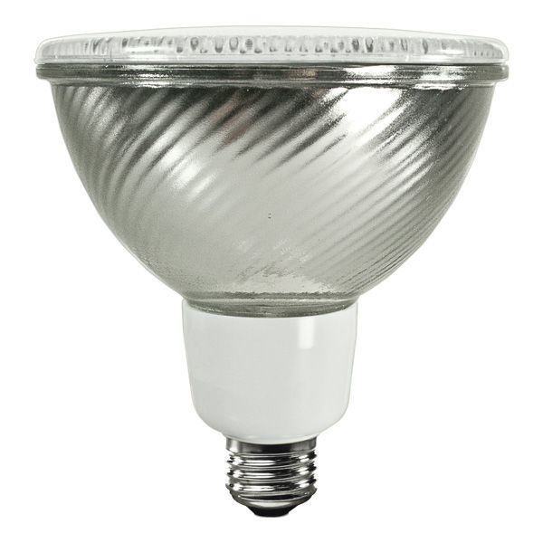 PAR38 CFL - 23 Watt - 90W Equal - 3000K Halogen White Image