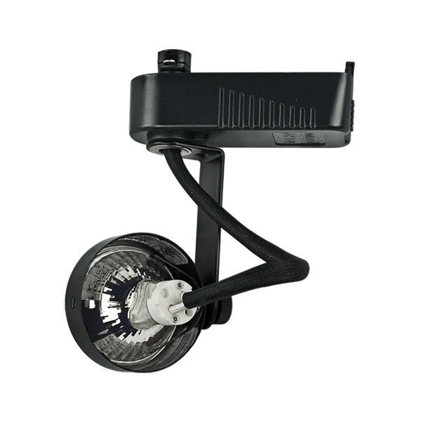 PLT PTL207B - Gimbal Ring Low Voltage Track Fixture - Black Image