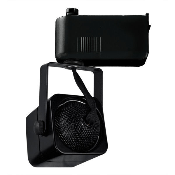 Nora NTL-202/75B - Cube Low Voltage Track Fixture - Black Image