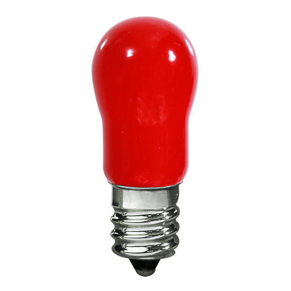 6 Watt - S6 Indicator - Red - Candelabra Base Image