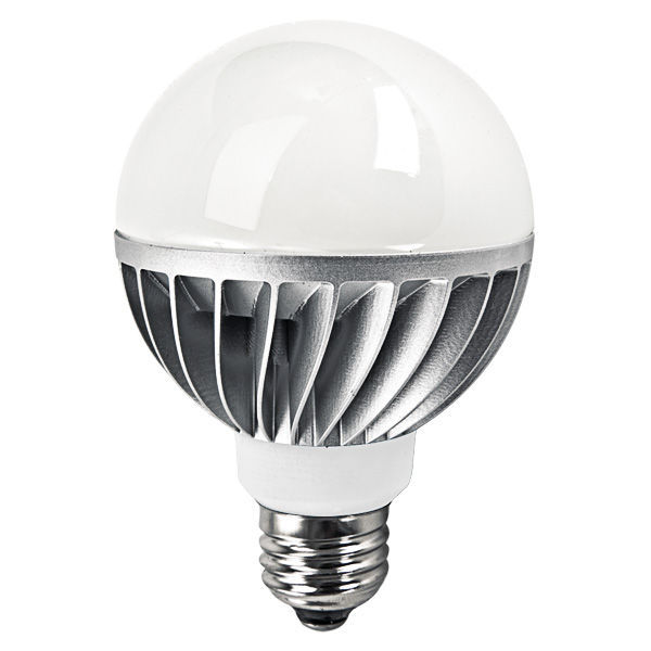 LED - 8 Watt - G25 Frosted Globe - 3.15 in. Diameter Image