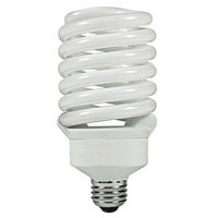 T3 Spiral CFL - 42 Watt - 150W Equal - 6500K Full Spectrum Daylight - 82 CRI - 63 Lumens per Watt
