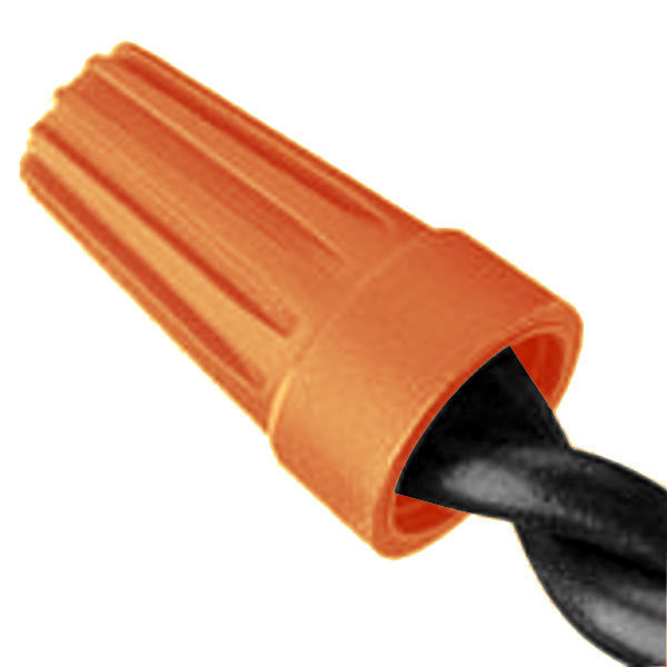 Orange Wire Connector - 22-16 Gauge Image