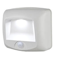 LED Wireless Step Light with Photocell - Weatherproof - Motion Activated - Battery Powered - 1 Year Warranty