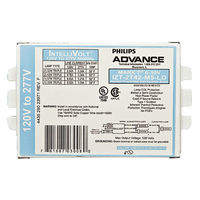 Advance Mark 7 0-10V IZT-2T42-M5-LD-35M - (2) Lamp - 42 Watt CFL - 120/277 Volt - Programmed Start - 1.0 Ballast Factor - Dimming