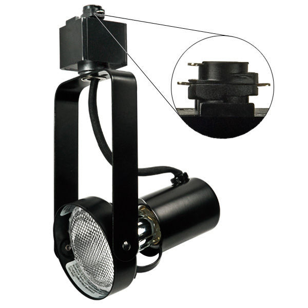 Nora NTH-146B - Gimbal Ring Track Fixture - Black Image