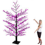 10 ft. Flower Christmas Tree Image