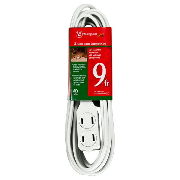 9 ft. Indoor Extension Cord Image