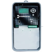 Electronic Astronomic Single Circuit Time Switch - Indoor Steel Case - Gray Finish - 120-277 Volt - Intermatic ET90115CR