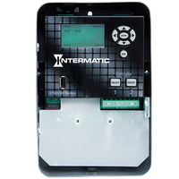 Intermatic ET90215C - 365-Day Electronic Astronomic Time Switch - NEMA 1 Indoor Steel Case - 2 Circuit - SPDT - 30 Amps - 120/208/240/277 Volt