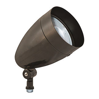 RAB HBLED13YA - 13 Watt - LED - Landscape Lighting - Flood Light Fixture - 120/208/240/277 Volt - Bronze Finish