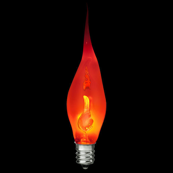 bulbrite 411003 silicone flicker flame bulb decorative. Black Bedroom Furniture Sets. Home Design Ideas