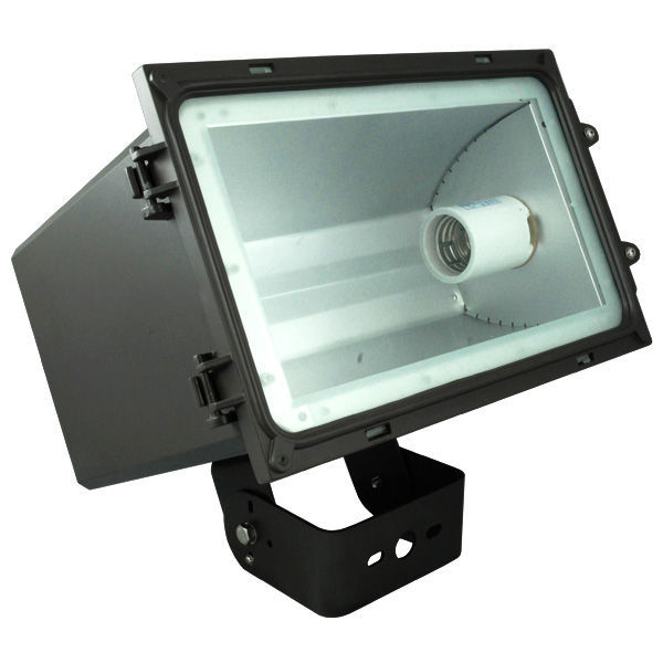 250 watt pulse start metal halide flood light fixture 120 208 240 277. Black Bedroom Furniture Sets. Home Design Ideas