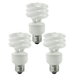 (3 Pack) 14 Watt - CFL - 60W Equal - 2700K Warm White Image