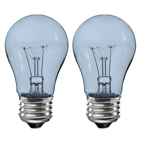 GE 48706 - 40 Watt - A15 - Transparent Neodymium - Appliance Bulb Image