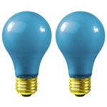 40 Watt - Opaque Blue - A19 - 120 Volt Image