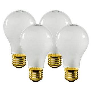 60 Watt - Soft White - A19 Light Bulb - 120 Volt - 1,500 Life Hours - Satco S1811