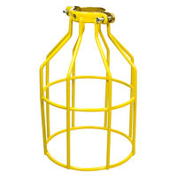 Metal Lamp Guard - Yellow - Replacement Cage
