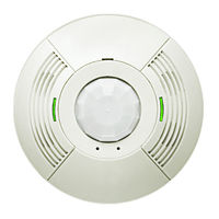 360 Deg. PIR/US Ceiling Mount Occupancy Sensor - Low Voltage Wiring - 2000 sq. ft. Coverage - White - 24VDC - Lutron LOS-CDT-2000-WH