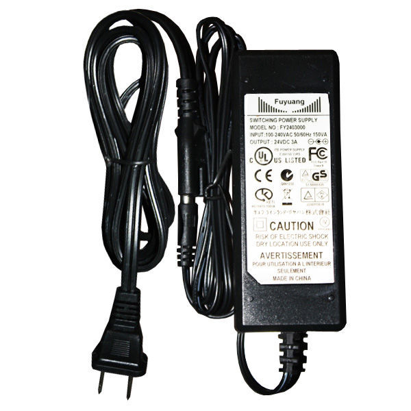 72 Watt Power Supply for 24 Volt LED Strip Light Image