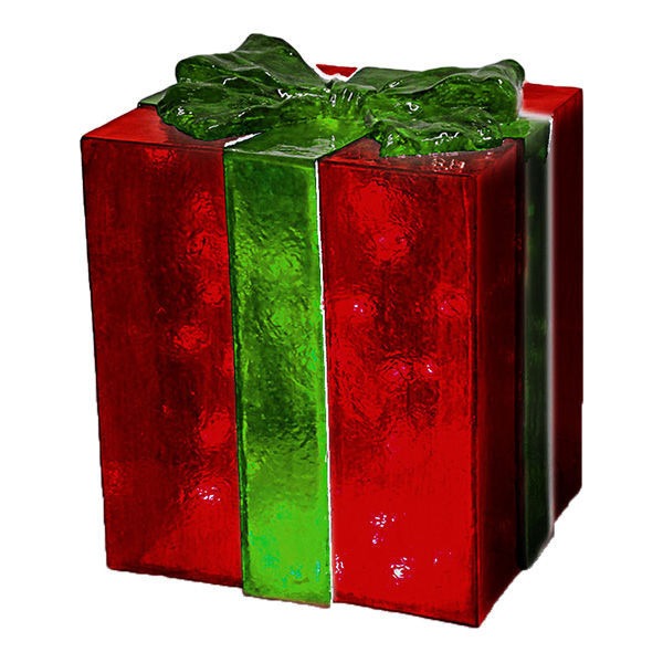 fiberglass gift box decoration image - Decorative Christmas Gift Boxes With Lids