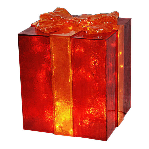 Fiberglass Gift Box Decoration Image