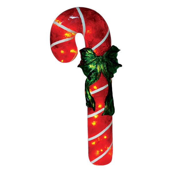 Fiberglass Candy Cane Decoration Image