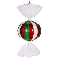 3 ft. Christmas Candy Decoration - Red, White, and Green