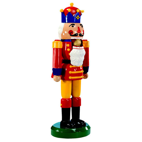 63 ft nutcracker image - Large Toy Soldier Christmas Decoration