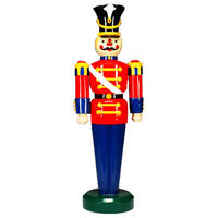 6.3 ft. - Toy Soldier - Fiberglass - Christmas Decoration