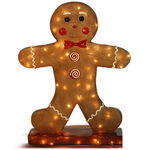 Fiberglass Gingerbread Boy Image