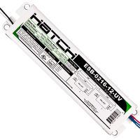 Electronic Sign Ballast - 2-16 ft. Total Lamp Length - (1-2 Lamps) - 120/277 Volt - Hatch ESB-0216-12-UV