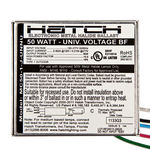 Hatch MC50-1-J-UNNU - 50 Watt - Electronic Metal Halide Ballast Image