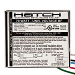 Hatch MC70-1-J-UNNU - 70 Watt - Electronic Metal Halide Ballast Image