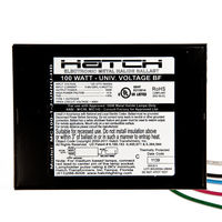 Hatch MC100-1-J-UNNU-HB - 100 Watt - Electronic Metal Halide Ballast - ANSI M90/M140 - 120/277 Volt - Power Factor 95% - Max. Temp. Rating 176 Deg. F - Bottom Feed Mounting With Studs