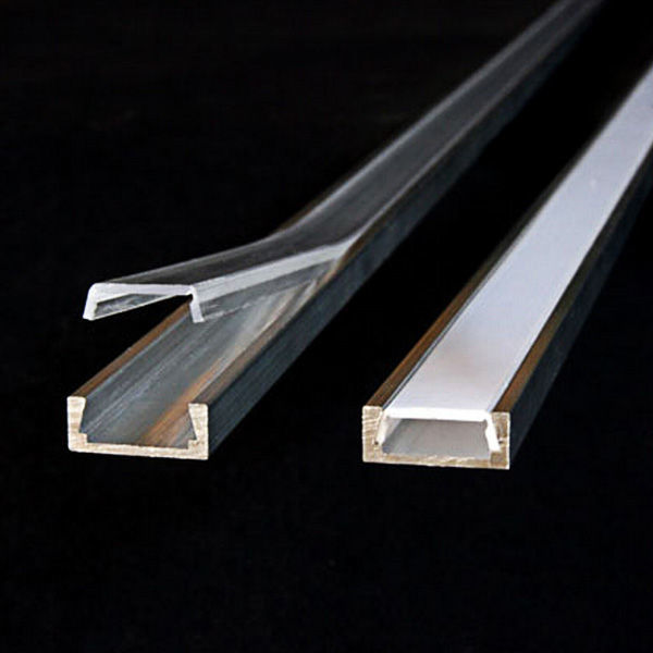 3.28 ft. Anodized Aluminum Micro-ALU Channel Image
