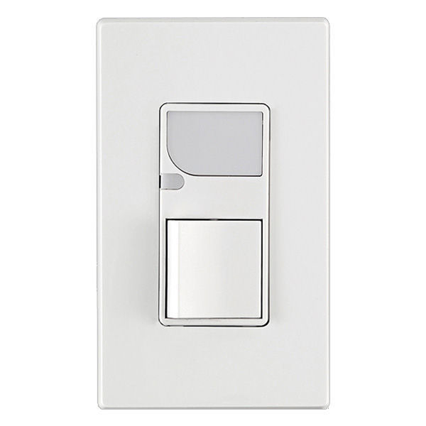 Leviton decora 15 amp residential grade combination rocker switch.