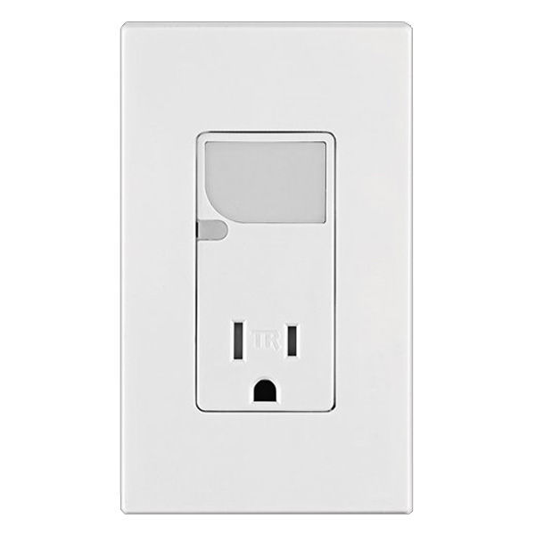 Receptacle with LED Guide Light - Tamper Resistant Image