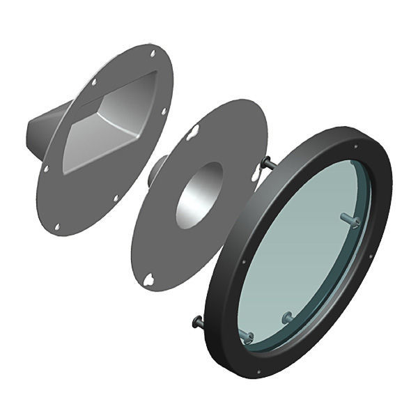 Gooseneck Clear Lens, Reflector and Frame Image