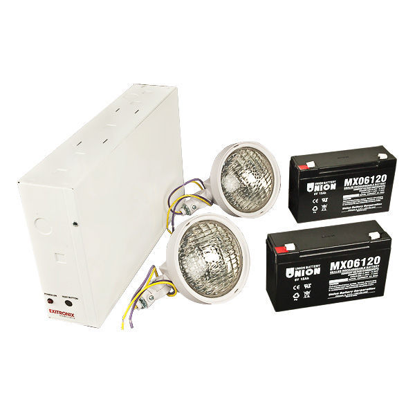 Emergency Light - Halogen Lamp Heads Image