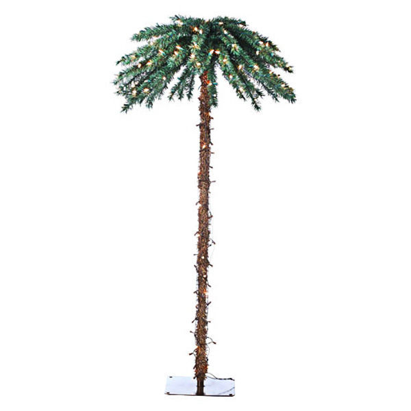 artificial christmas palm tree