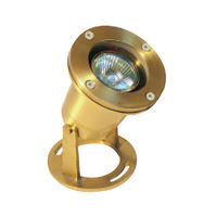 20 Watt - Halogen - Neptune Underwater Light - Solid Brass Finish - 12 Volt - Greenscape H20-502B-MR16-20