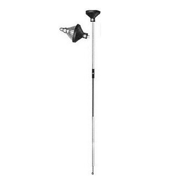 4 ft extension pole with bulb changer head. Black Bedroom Furniture Sets. Home Design Ideas