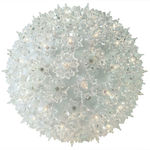 10 in. dia. Clear Twinkling Starlight Sphere - Utilizes 150 Mini Lights Image