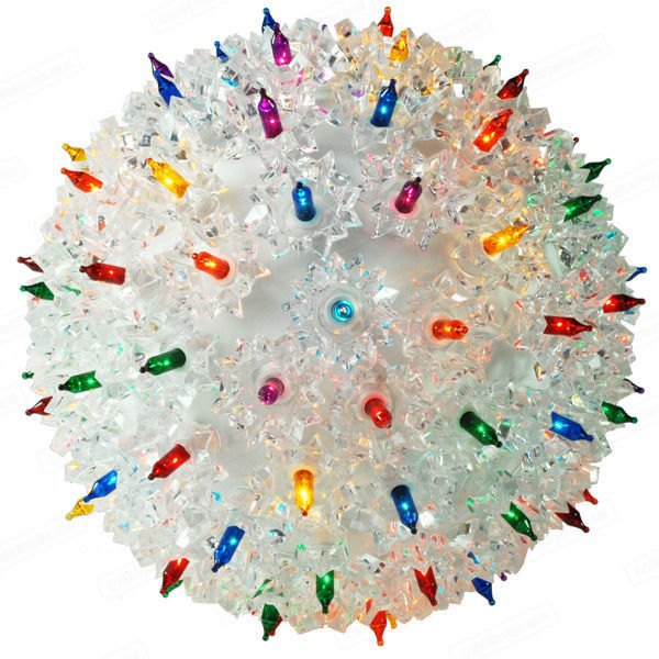 (150) MULTI-COLOR Mini Lights - 10 in. dia. Starlight Sphere Image