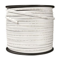 500 ft. - White - 18 AWG - SPT-2 Rated -  Commercial Christmas Wire