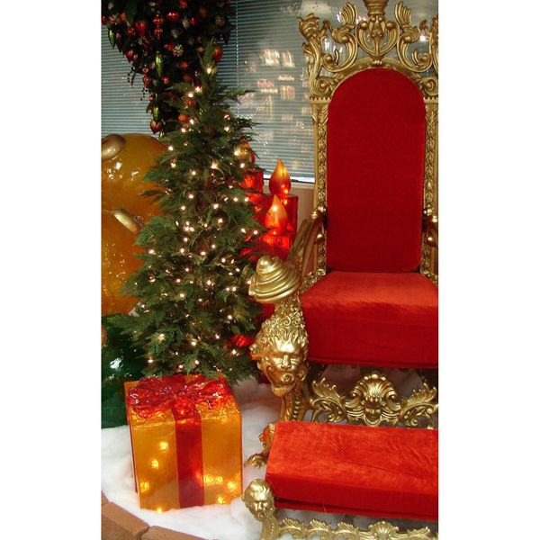 fiberglass gift box decoration image - Christmas Gift Box Decorations