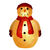 Fiberglass Snowman Decoration