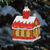 Log Cabin Christmas Ornament